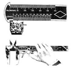 ligne gauge, millimeter gauge