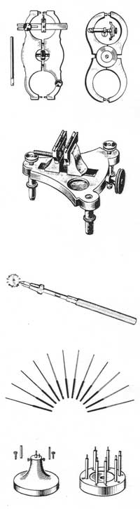 Two types of calipers