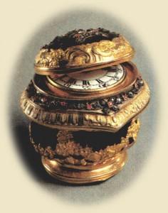 rococo antique timepieces