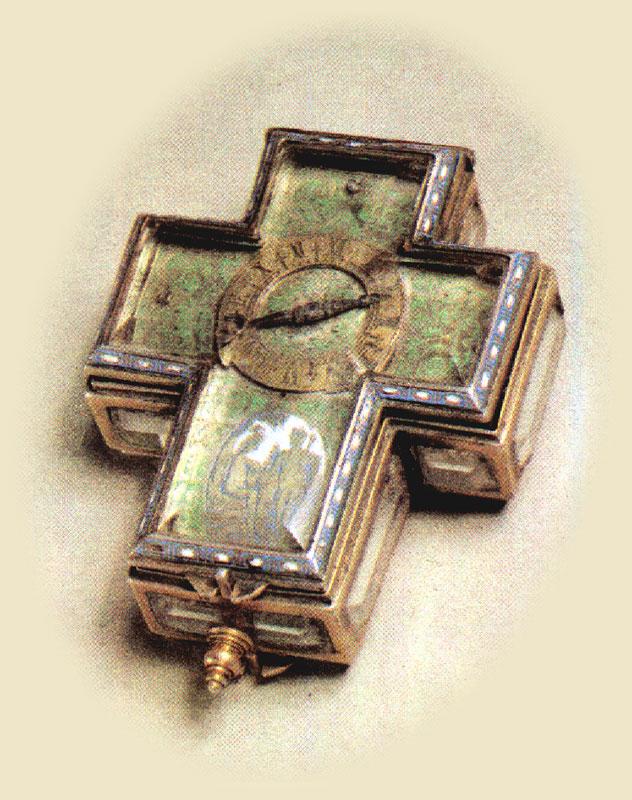 rare cross-watch (abbess' watch)
