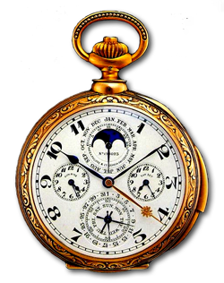 Golg antique pocket watch