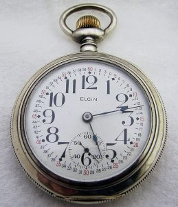 Pocket watch winding
