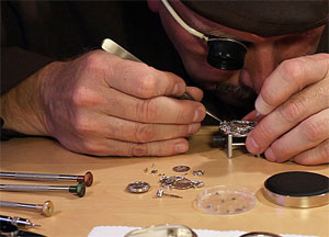 watchmaker workplace equipment