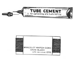 Crystal cement generally comes in tubes
