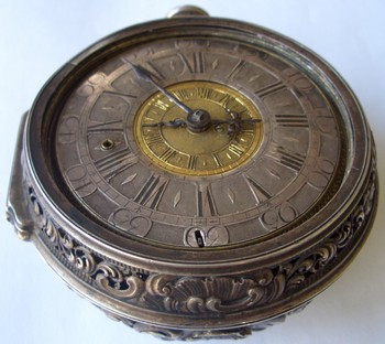 Austria, 2 - I floor. XVIII century. Rare antique pocket (dilizhansnye) watches clock