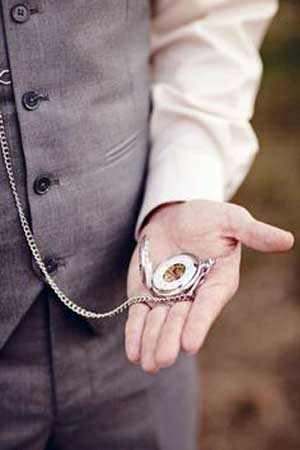 A man with pocket watch